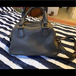 J. Crew biennial leather satchel